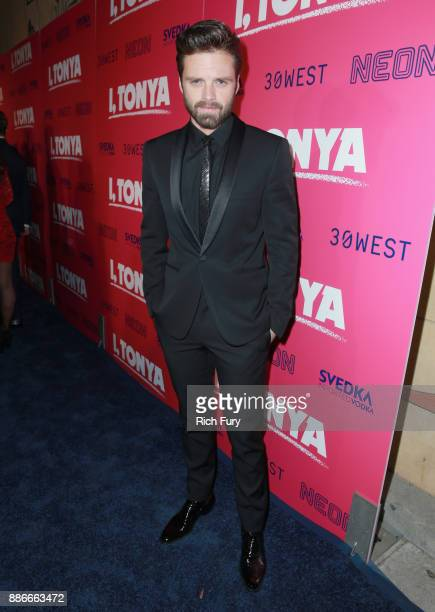Sebastian Stan attends Premiere Of Neon And 30 West's I Tonya' at the Egyptian Theatre on December 5 2017 in Hollywood California