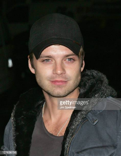 Sebastian Stan attends tbe New York Premiere of 'Jane Eyre' at the Tribeca Grand Hotel Screening Room on March 9 2011 in New York City