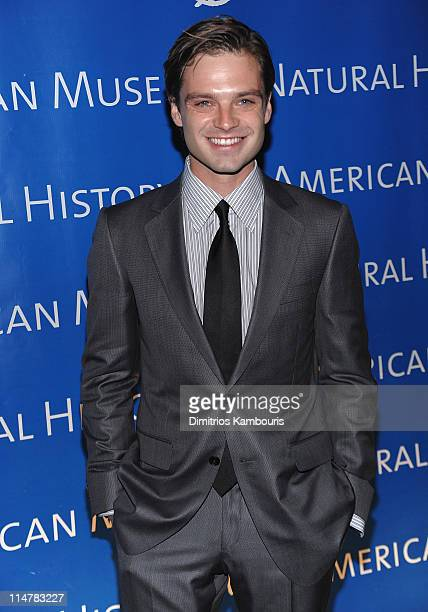 Sebastian Stan attends the 2010 AMNH museum dance at the American Museum of Natural History on April 15 2010 in New York City