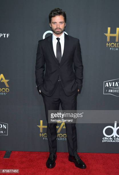 Sebastian Stan attends the 21st Annual Hollywood Film Awards at The Beverly Hilton Hotel on November 5 2017 in Beverly Hills California