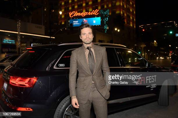 Sebastian Stan attends the Audi hosted private dinner for 'Destroyer' during AFI FEST 2018 at Public Kitchen Bar at the Roosevelt on November 13 2018...