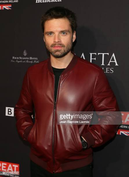 Sebastian Stan attends The BAFTA Los Angeles Tea Party at Four Seasons Hotel Los Angeles at Beverly Hills on January 6 2018 in Los Angeles California