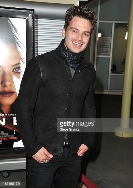 Sebastian Stan attends the 'Gone' Los Angeles Premire at ArcLight Cinemas on February 21 2012 in Hollywood California