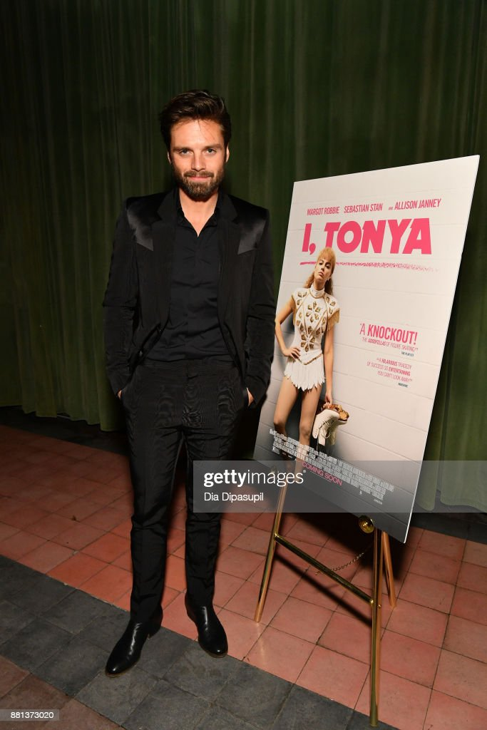 Sebastian Stan attends the 'I, Tonya' New York premiere after party on November 28, 2017 in New York City.