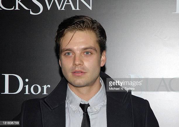 Sebastian Stan attends the New York Premiere of 'Black Swan' at the Ziegfeld Theatre on November 30 2010 in New York City