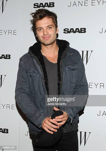 Sebastian Stan attends the New York Premiere of 'Jane Eyre' at the Tribeca Grand Hotel Screening Room on March 9 2011 in New York City