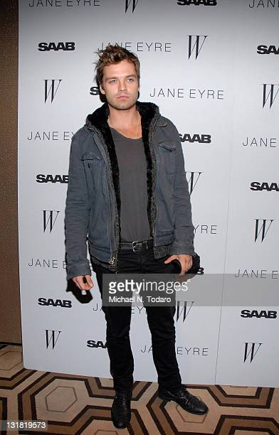 Sebastian Stan attends the New York screening of 'Jane Eyre' at Tribeca Grand Hotel Screening Room on March 9 2011 in New York City