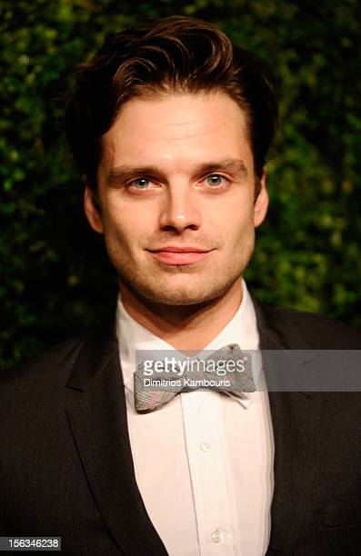 Sebastian Stan attends The Ninth Annual CFDA/Vogue Fashion Fund Awards at 548 West 22nd Street on November 13 2012 in New York City