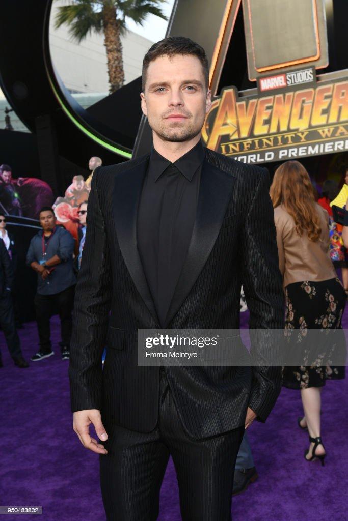 "Premiere Of Disney And Marvel's ""Avengers: Infinity War"" - Red Carpet : Nachrichtenfoto"
