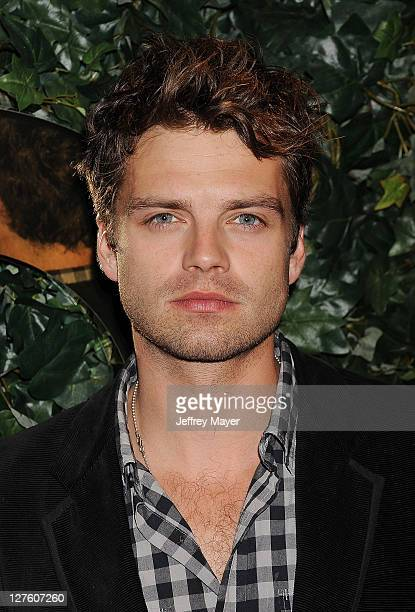 Sebastian Stan attends the QVC Red Carpet Style Party held at the Four Seasons Hotel Los Angeles on February 25 2011 in Los Angeles California