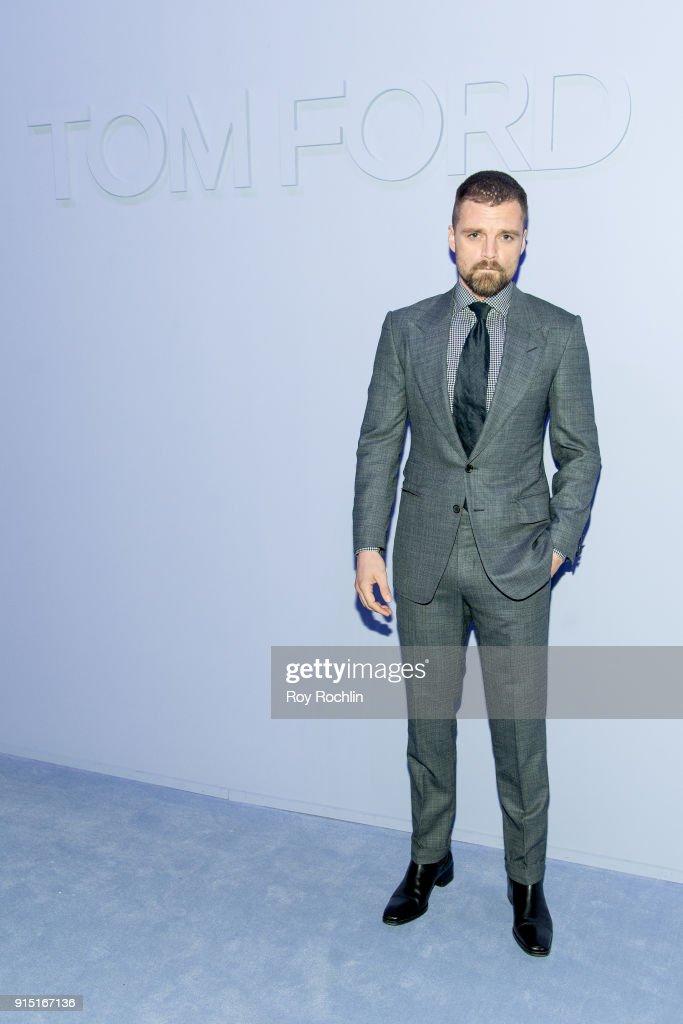 Tom Ford Men's - Arrivals - February 2018 - New York Fashion Week : Nachrichtenfoto