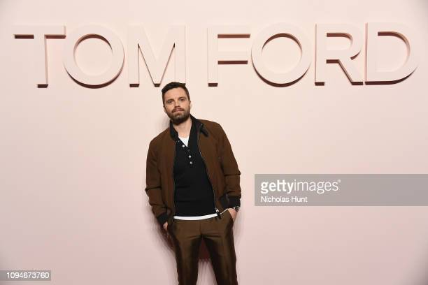 Sebastian Stan attends the Tom Ford FW 2019 during New York Fashion Week The Shows on February 6 2019 in New York City