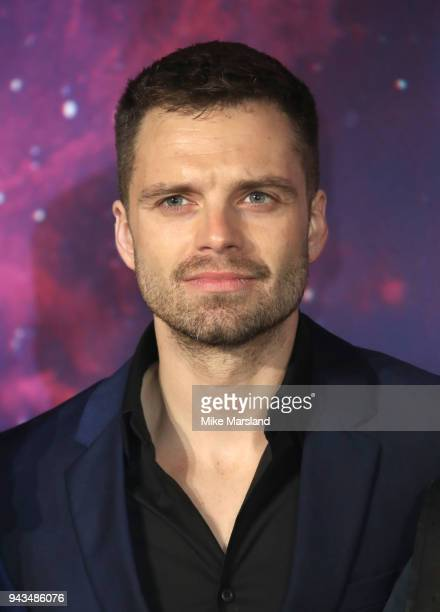 831b6608fd Sebastian Stan attends the UK Fan Event for Avengers Infinity War at  Television Studios White City