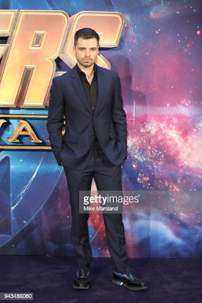 c54acda1aa Sebastian Stan attends the UK Fan Event for Avengers Infinity War at  Television Studios White City. Persol   Sunglass Hut Present Special  Edition 714 Steve ...