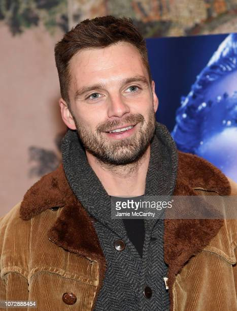 Sebastian Stan attends the 'Vox Lux' New York Screening at the Whitby Hotel on December 13 2018 in New York City