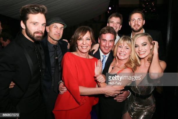 Sebastian Stan Craig Gillespie Allison Janney Steven Rogers Bryan Unkeless Tonya Harding Ricky Russert and Margot Robbie attend the after party for...