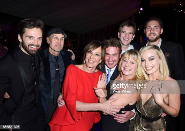 Sebastian Stan, Craig Gillespie, Allison Janney, Steven Rogers, Bryan Unkeless, Tonya Harding, Ricky Russert and Margot Robbie attend NEON and 30WEST...
