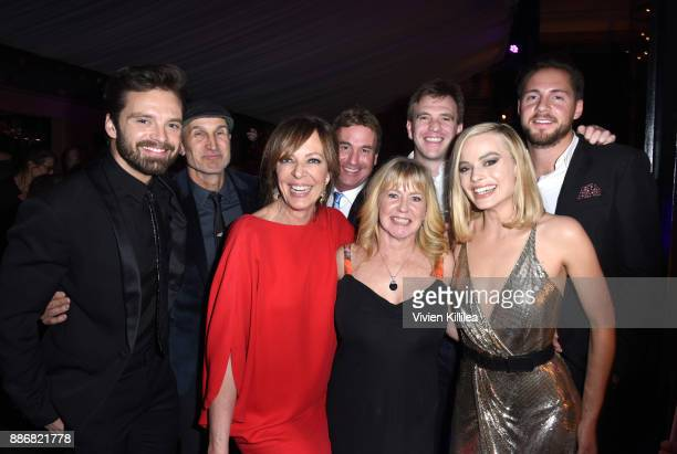 Sebastian Stan Craig Gillespie Allison Janney Steven Rogers Bryan Unkeless Tonya Harding Ricky Russert and Margot Robbie attend NEON and 30WEST...