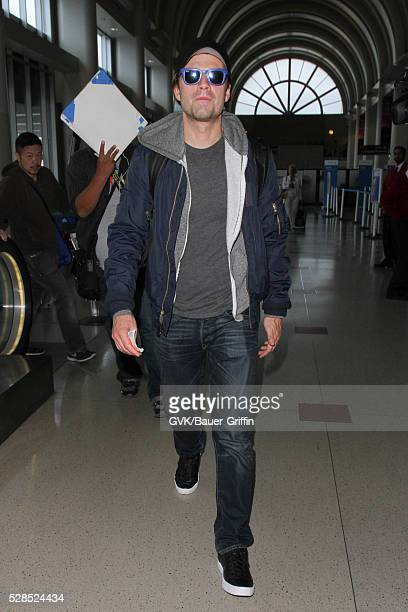 Sebastian Stan is seen at LAX on May 05 2016 in Los Angeles California