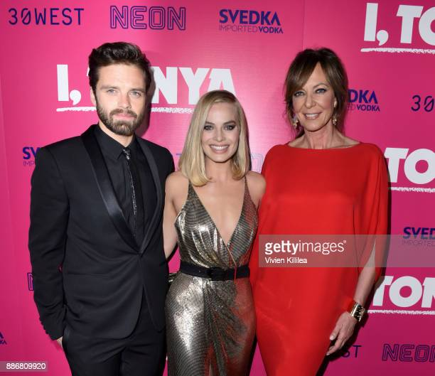 3058051b04 Sebastian Stan Margot Robbie and Allison Janney attend NEON and 30WEST  Present the Los Angeles Premiere