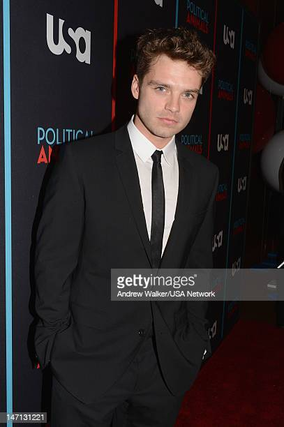 Sebastian Stan of 'Political Animals' attends Political Animals Premiere Event at The Morgan Library Museum on June 25 2012 in New York City