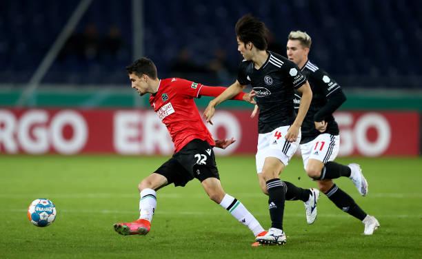 DEU: Hannover 96 v Fortuna Düsseldorf - DFB Cup: Second Round