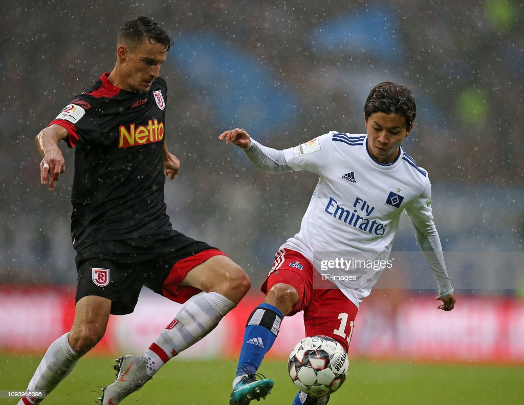Hamburger SV v SSV Jahn Regensburg - Second Bundesliga : News Photo