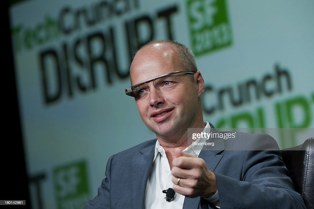 Sebastian Thrun, chief executive officer and co-founder of Udacity Inc., speaks at the TechCrunch Disrupt SF 2013 conference in San Francisco, California, U.S., on Monday, Sept. 9, 2013. TechCrunch, which runs from Sept. 9-11, features leaders from various technology fields and includes a competition for the best new startup company. Photographer: David Paul Morris/Bloomberg via Getty Images