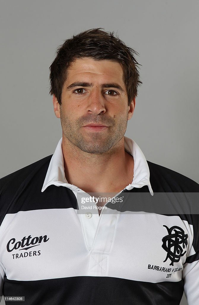Sebastian Tillous-Borde of the Barbarians poses for a portrait at Richmond Athletic Ground on May 25, 2011 in Richmond upon Thames, England.