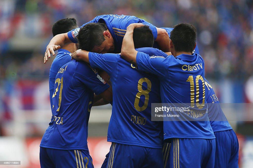 Audax Italiano v U de Chile - Torneo Apertura 2014