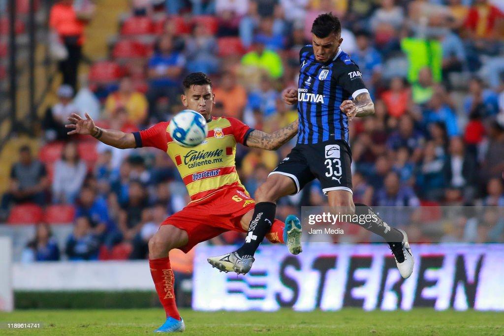 Queretaro v Morelia - Torneo Apertura 2019 Liga MX : News Photo
