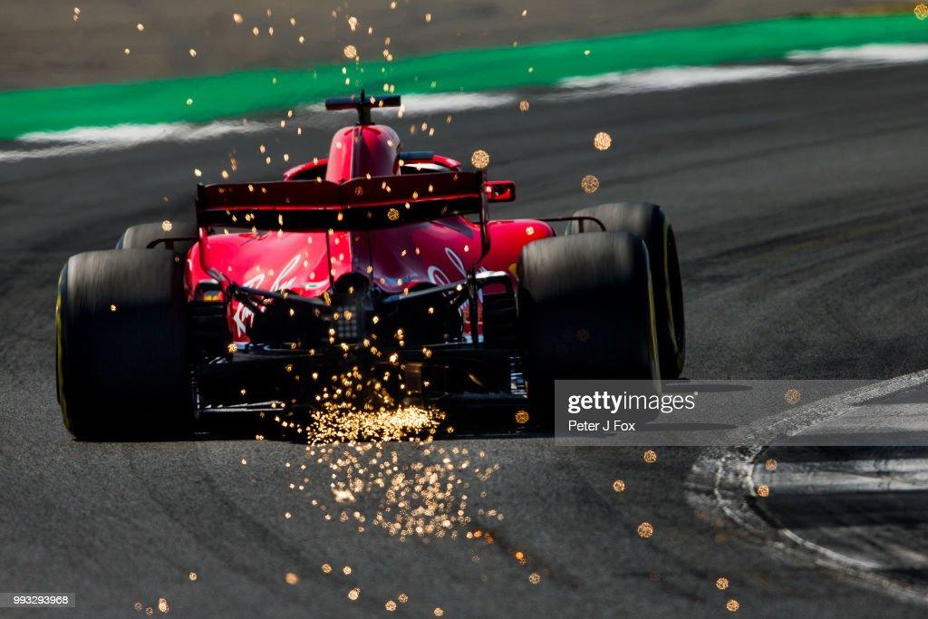 F1 Grand Prix of Great Britain - Final Practice : News Photo