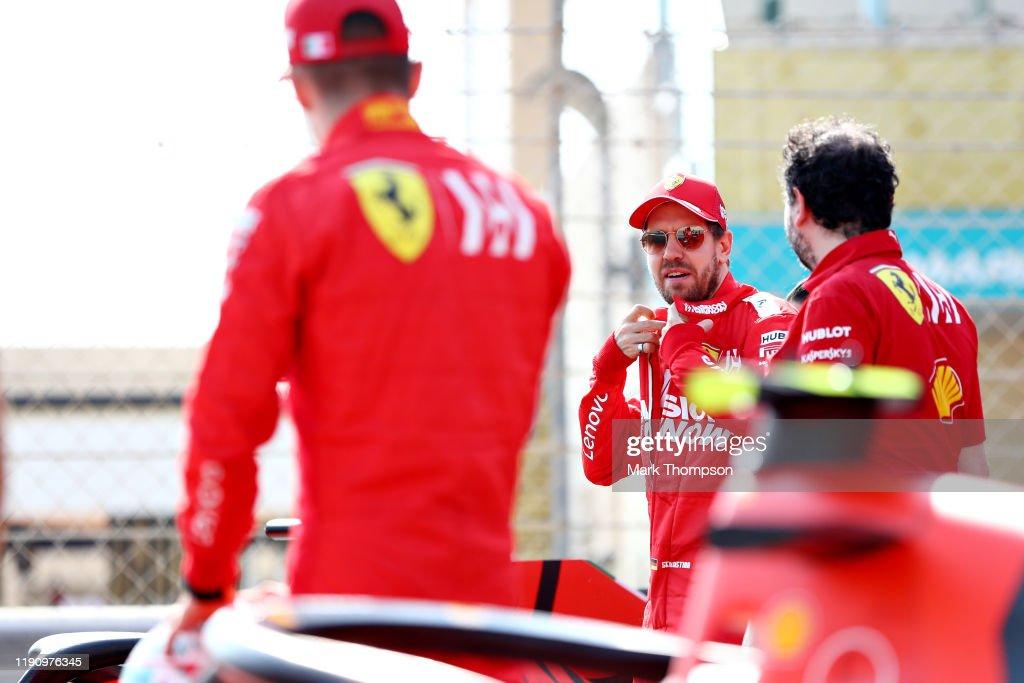 F1 Grand Prix of Abu Dhabi - Final Practice : News Photo