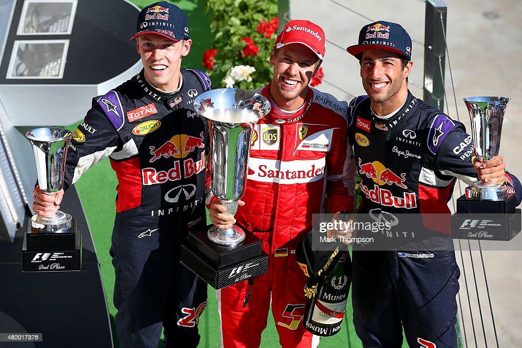 F1 Grand Prix of Hungary : News Photo