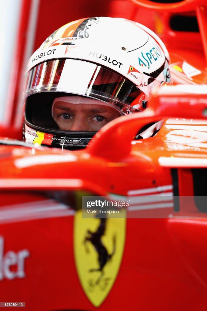 F1 Grand Prix of Abu Dhabi - Practice : ニュース写真
