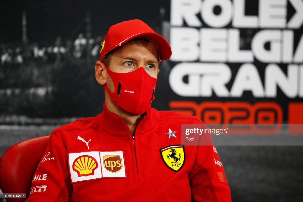 F1 Grand Prix of Belgium - Previews : News Photo