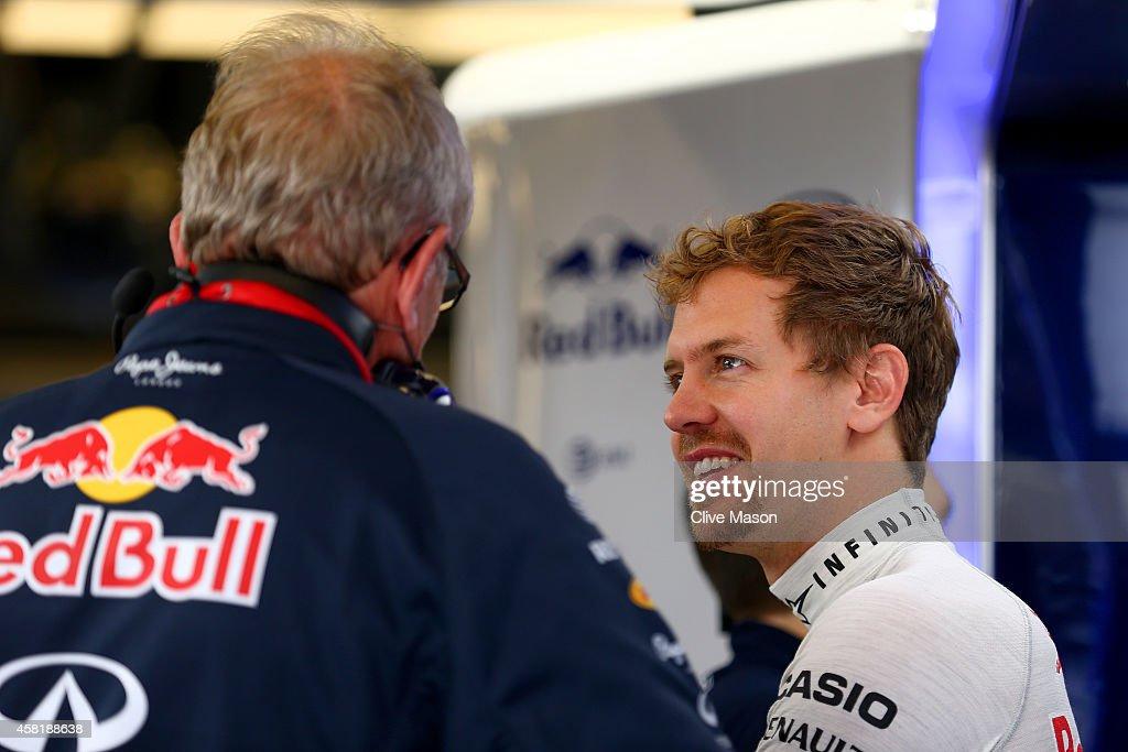 F1 Grand Prix of USA - Practice : News Photo