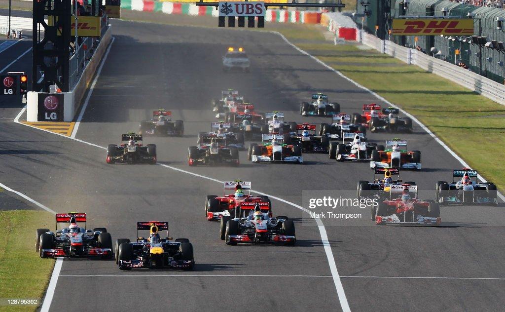 F1 Grand Prix of Japan - Race : News Photo