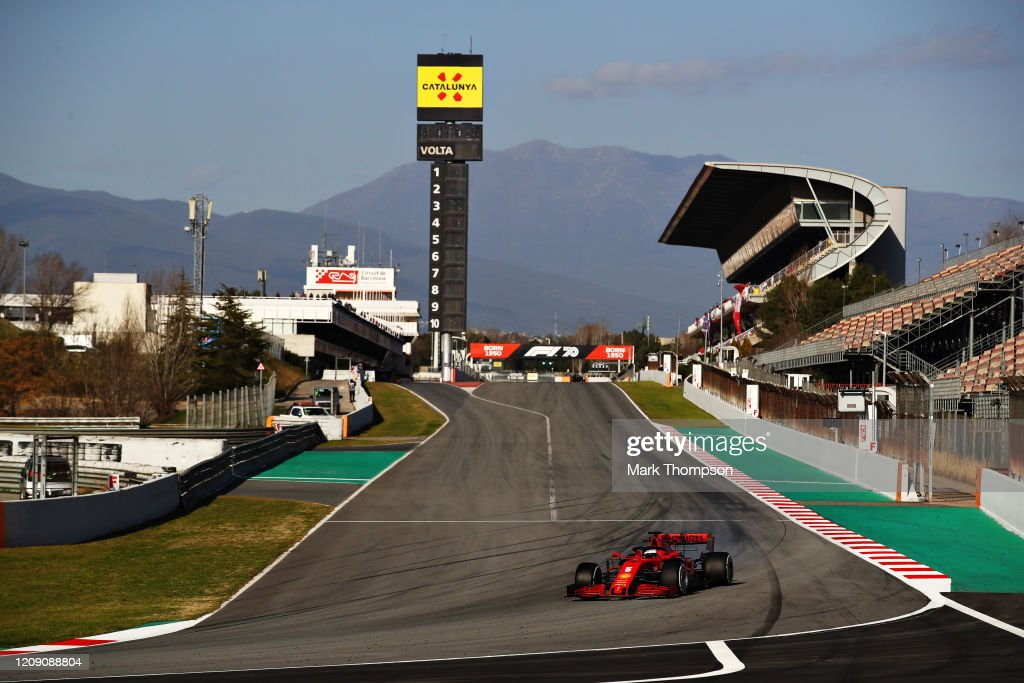 F1 Winter Testing in Barcelona - Day Two : Photo d'actualité