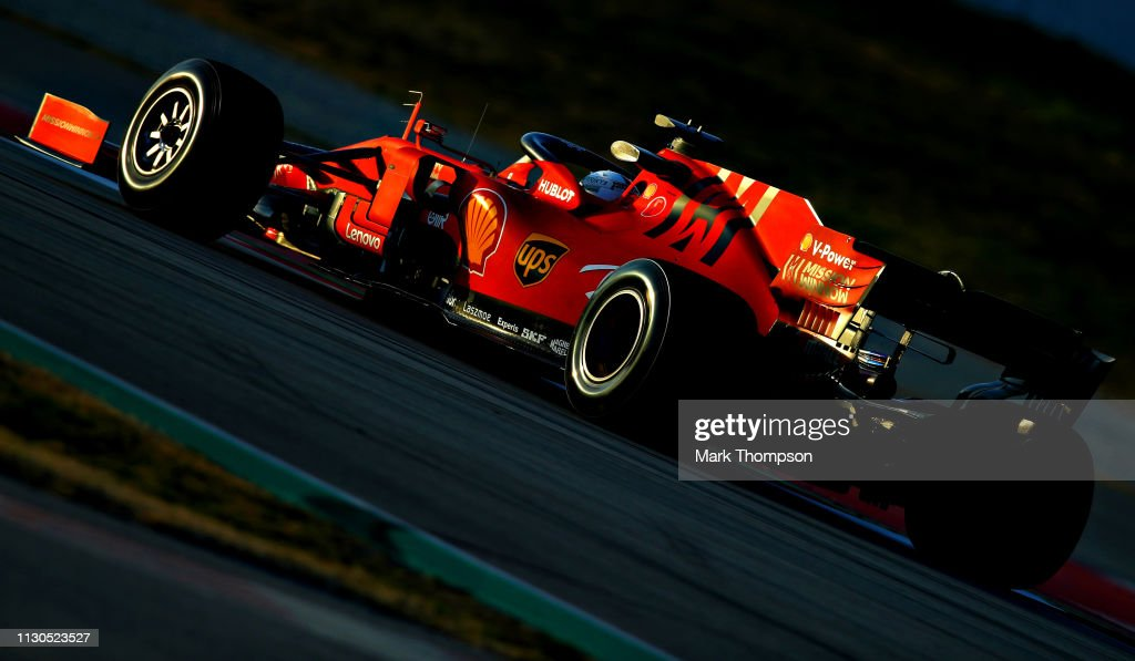 ESP: F1 Winter Testing in Barcelona - Day One