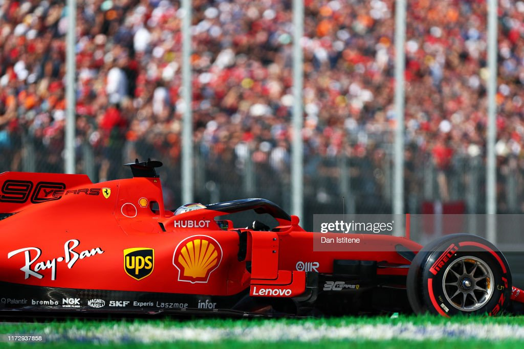 F1 Grand Prix of Italy - Qualifying : ニュース写真