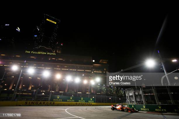 singapore singapore sebastian vettel germany driving