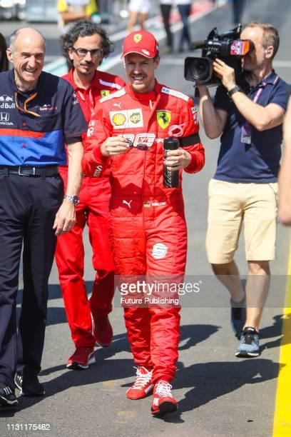 Sebastian VETTEL of Scuderia Ferrari Mission Winnow before the start of the 2019 Formula 1 Australian Grand Prix