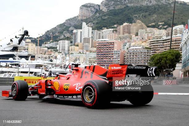 Sebastian Vettel of Scuderia Ferrari on track during the F1 Grand Prix of Monaco.