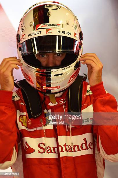 Sebastian Vettel Scuderia Ferrari formula 1 GP Italien in Monza