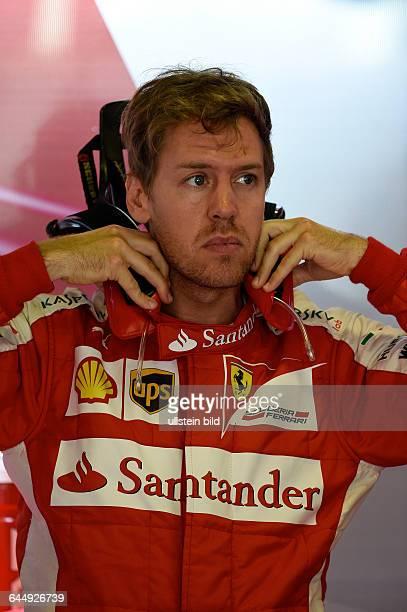 Sebastian Vettel, Scuderia Ferrari, formula 1 GP, Spanien in Barcelona