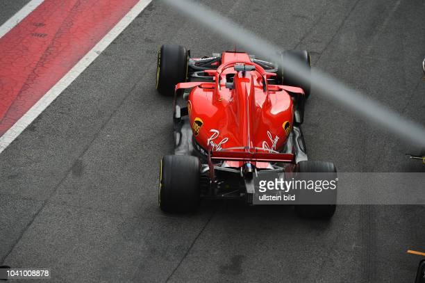 Sebastian Vettel, Scuderia Ferrari, formula 1 GP, Test, Barcelona Spanien,