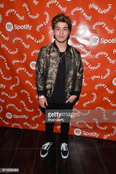Sebastian Villalobos at Spotify Celebrates Latin Music and Their Viva Latino Playlist at Marquee Nightclub on November 14 2017 in Las Vegas Nevada