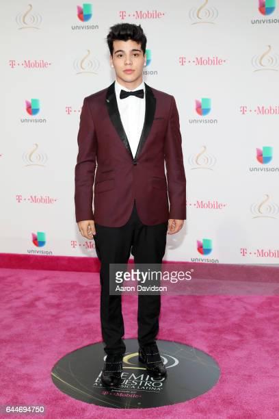Sebastian Villalobos attends Univision's 29th Edition of Premio Lo Nuestro A La Musica Latina at the American Airlines Arena on February 23 2017 in...