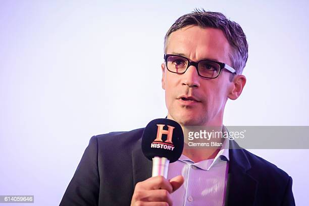 Sebastian Wilhelmi attends the preview screening of the new series 'Wigald Fritz Die Geschichtsjaeger' by the German TV channel HISTORY on the...
